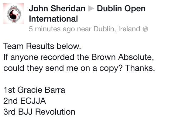 Dublin International Open Team Title