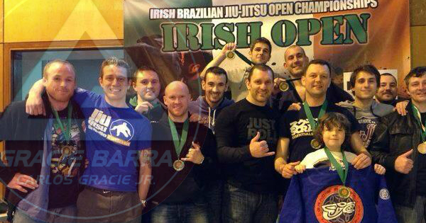 Gracie Barra Northern Ireland Competition Team BJJ