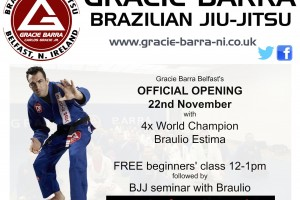 Official Opening Gracie barra Belfast November 2014