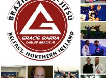 100 Likes on Belfast BJJ Gracie Barra Facebook Page
