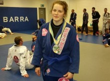 Dawn Hynes World Pro BJJ Silver Medal Feb 2015