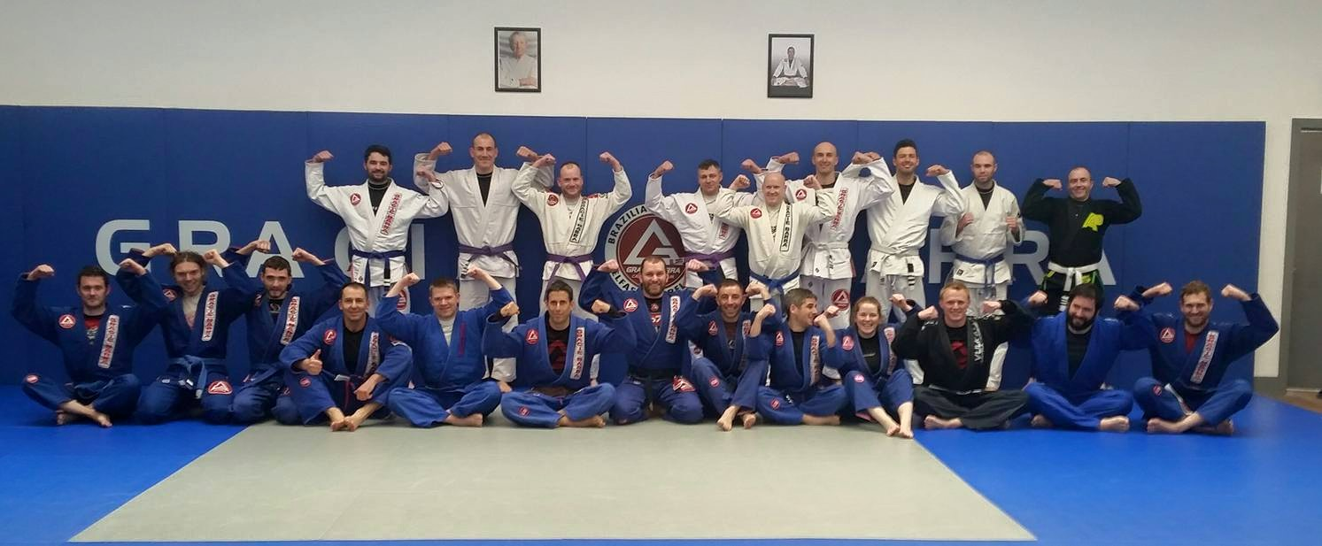 New belts on 16th May 2015 at Gracie Barra Belfast